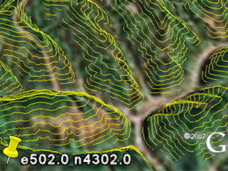 Visualizing LIDAR In Google Earth Fast Streaming Source Code - Google earth elevation data
