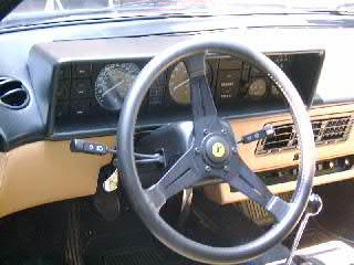 Ferrari Mondial Dashboard