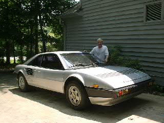 Kurtis Keller and his 1982 Ferrari Mondial