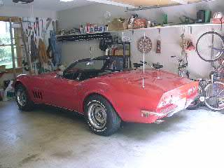 1969 Corvette Convertable