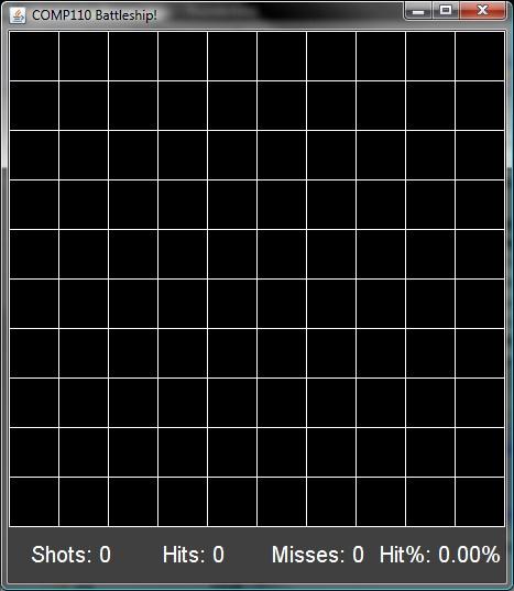 Comp 110 003 Program 4