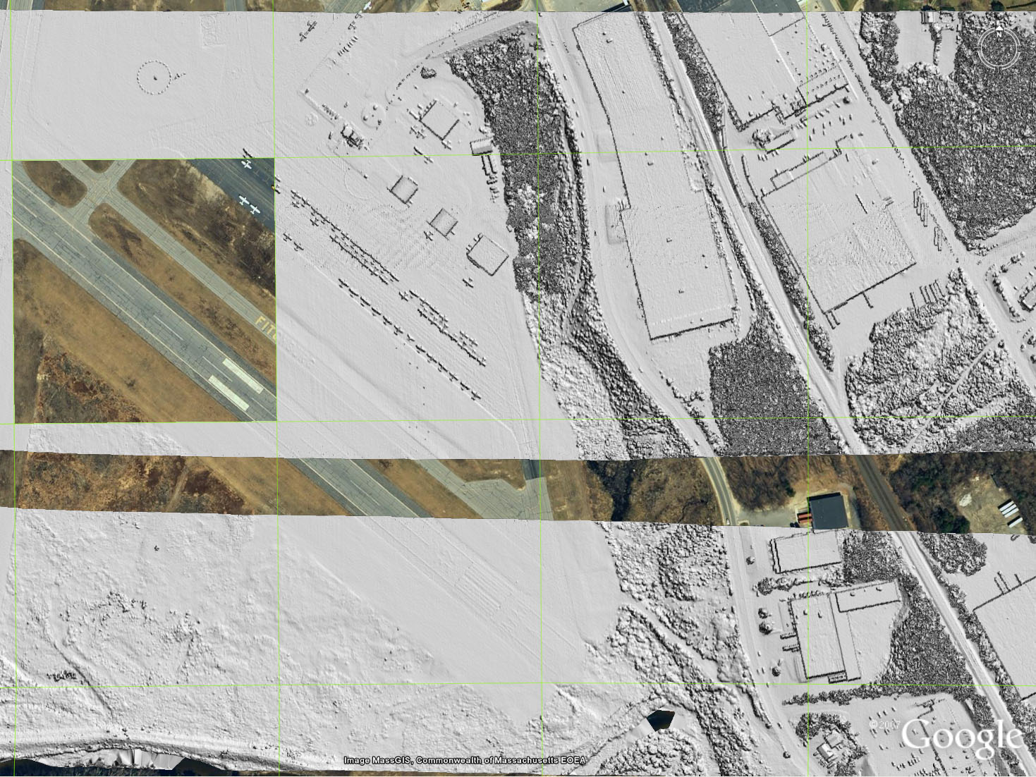 Visualizing LIDAR in Google Earth (fast & streaming, source